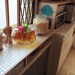 、食器棚のリメイクに関するさんの実例写真