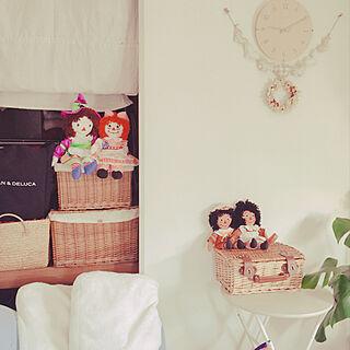 女性47歳の家族暮らし3DK、アン&アンディ♥に関するakoさんの実例写真