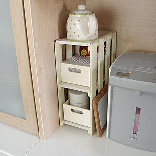 女性38歳の家族暮らし2LDK、電気ポットに関するShooowkoさんの実例写真
