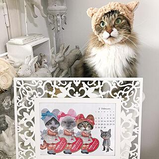 女性家族暮らし、カレンダー 手作りに関するyuchiさんの実例写真