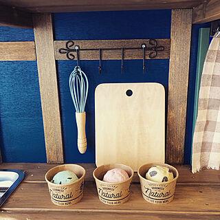 女性31歳の家族暮らし3LDK、おままごとキッチンに関するyuzumaruさんの実例写真