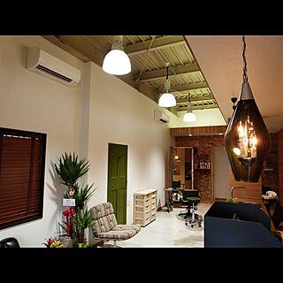 鏡/ミラー/椅子/照明/植物...などのインテリア実例 - 2016-12-03 09:15:22