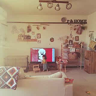 女性35歳の家族暮らし3LDK、娘ちゃんのお部屋に関するnonさんの実例写真