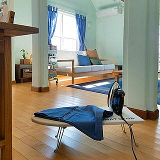 部屋全体/IKEA/カーテン/カーテンを変えたい/買い物...などのインテリア実例 - 2018-05-05 08:32:45
