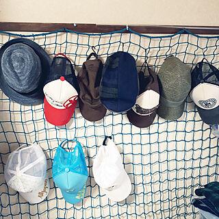 女性家族暮らし3DK、帽子に関するhappyさんの実例写真