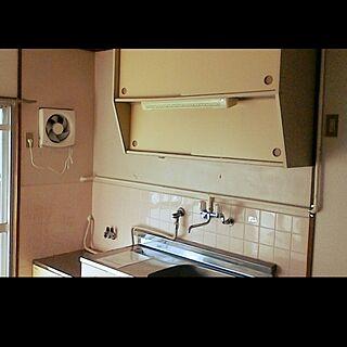 キッチン/これから引っ越し/3DK/賃貸キッチン/古いお風呂のアレンジのインテリア実例 - 2017-02-23 21:24:33