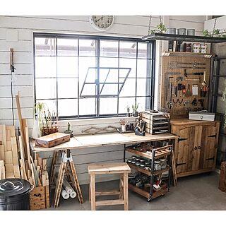 棚/ワークスペース/工具収納/アトリエ/DIY...などのインテリア実例 - 2017-03-01 09:10:30