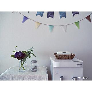 壁面を飾る/紫陽花/朝にゆとりを/晴れの日/お花を飾る...などのインテリア実例 - 2018-05-11 11:48:08