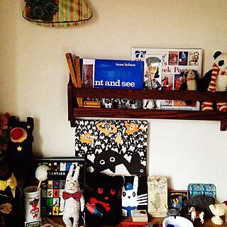 蚤の市/ぬいぐるみ/えほん/雑貨/アンティーク...などのインテリア実例 - 2015-07-05 16:09:44