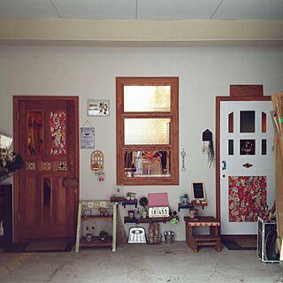 女性40歳の家族暮らし3LDK、店舗デザインに関するPORTACARINASALONさんの実例写真
