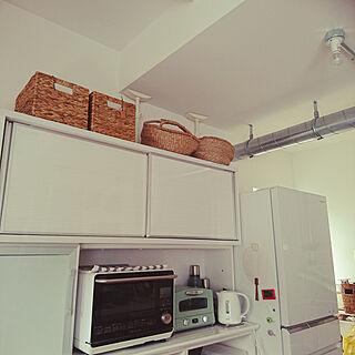 女性36歳の家族暮らし4LDK、食器棚に関するtata617913さんの実例写真