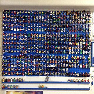 女性家族暮らし、レゴ収納に関するaohaさんの実例写真