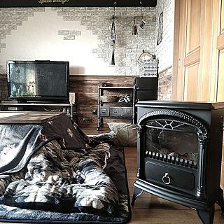 女性家族暮らし4LDK、ドリームクッションレンガに関するyuriyanaさんの実例写真