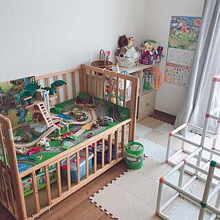 机/リビング/子供のおもちゃ/赤ちゃんのいる暮らし/アニア...などのインテリア実例 - 2019-02-27 10:15:48