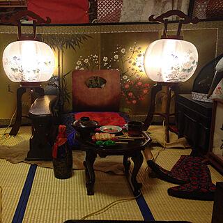 男性21歳の家族暮らし3LDK、お膳に関するtakakuzenさんの実例写真