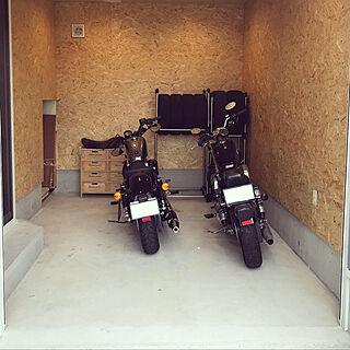 壁/天井/趣味の時間/趣味の部屋/趣味/バイクのある暮らし...などのインテリア実例 - 2018-09-15 13:14:22