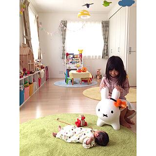 女性家族暮らし3LDK、新生児と暮らすに関するmamaさんの実例写真
