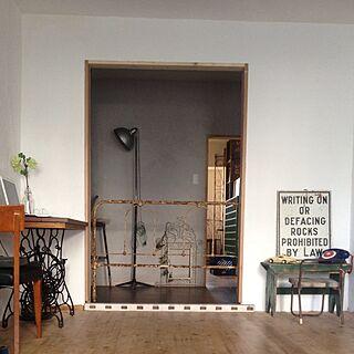 男性46歳の家族暮らし2LDK、ミニポケットマルシェに関するotokotsubuさんの実例写真