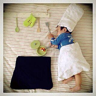 女性家族暮らし、寝相に関するyuuka.さんの実例写真