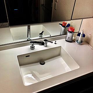 ノータッチ泡ハンドソープ/電動歯ブラシ/洗面スペース/バス/トイレ/ホテルライクに憧れるのインテリア実例 - 2019-10-05 15:54:54