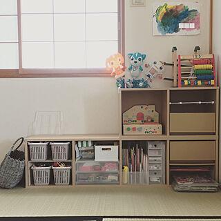 女性家族暮らし3LDK、おかたづけに関するyamadanokurashiさんの実例写真