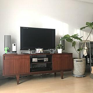 女性家族暮らし3LDK、unico TVボードに関するderazouさんの実例写真