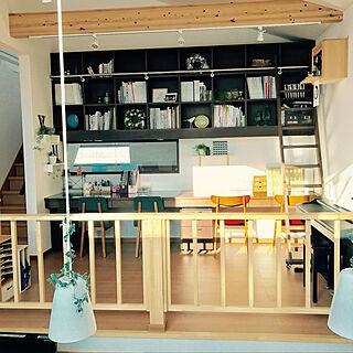 女性38歳の家族暮らし4LDK、仕事/勉強 部屋に関するdreamgirl-littlebirdさんの実例写真