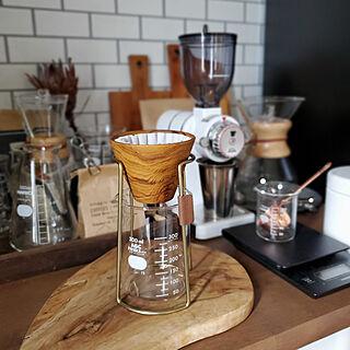 キッチン/ハンドドリップ珈琲/coffee time/coffee大好き!/コーヒー好き...などのインテリア実例 - 2020-07-08 08:23:14