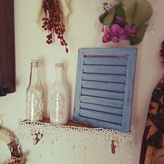 女性34歳の家族暮らし4LDK、gumi.さんの作品に関するShimaさんの実例写真