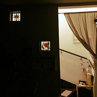 女性39歳の家族暮らし、ステンドガラスに関するaranさんの実例写真