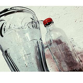 バス/トイレ/いただきもの/コカ・コーラの瓶/コカ・コーラ/coca-cola/coca-cola瓶...などのインテリア実例 - 2018-01-09 22:38:27