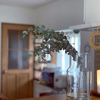 アロマディフューザー/北欧、暮らしの道具店/リューズガラスの花瓶/無印良品/キッチンのインテリア実例 - 2019-07-21 07:33:39