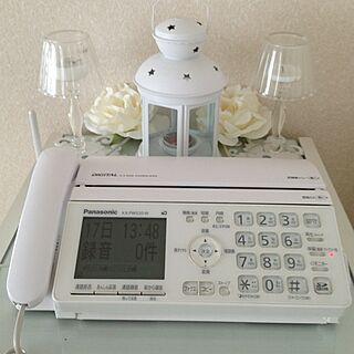 電話台の上のインテリア実例 - 2013-02-17 13:49:15
