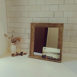 女性家族暮らし、合わせ鏡に関するso-bokuさんの実例写真