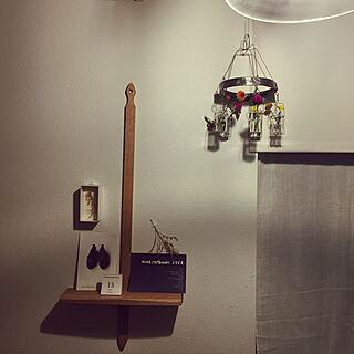 壁/天井/狭小マイホーム/花のある暮らし/建売住宅/ドライフラワー...などのインテリア実例 - 2017-11-13 17:32:29