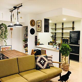 女性32歳の同棲、おしゃれな部屋にしたいに関するMiharuさんの実例写真