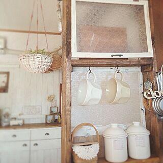 キッチン/keitan♡/いただきもの♡/DIY/生活感のインテリア実例 - 2014-01-23 08:24:40