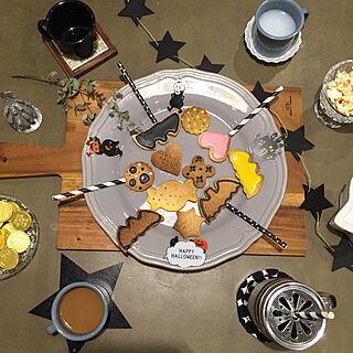 キッチン/星モチーフ/カフェ/カフェ風/コップ...などのインテリア実例 - 2016-09-19 20:24:22