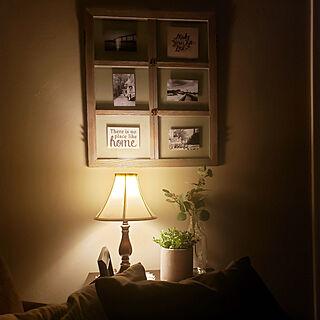 壁/天井/窓枠風フレーム/白黒写真/風景写真/写真撮るのヘタっぴ...などのインテリア実例 - 2020-10-08 20:07:12