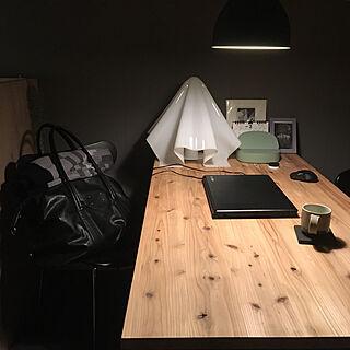 机/IKEA 照明/IKEA/シンプル/狭い部屋...などのインテリア実例 - 2018-03-10 23:38:30