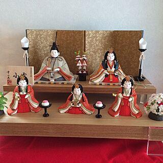 女性家族暮らし、木目込み人形に関するkazuさんの実例写真
