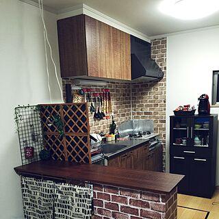 男性37歳の家族暮らし2LDK、Kitchen 疲れたに関するkazu-kirameki-さんの実例写真
