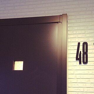 玄関/入り口/シンプルモダン/デザインレターズ/アクタスのインテリア実例 - 2015-07-06 18:07:19