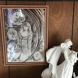 壁/天井/オブジェ/いらすと/マリア/マリア様...などのインテリア実例 - 2018-10-19 15:30:35