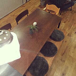 キッチン/salut!/さりゅ!/180cm ダイニングテーブル/ジャーライト...などのインテリア実例 - 2017-10-24 00:46:48