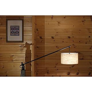 男性35歳の家族暮らし3LDK、灯りに関するforemanさんの実例写真