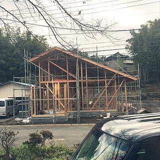 男性30歳の家族暮らし、屋根がついたに関するShunpeiさんの実例写真