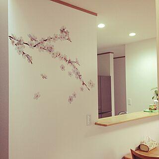 女性家族暮らし、暖色系の部屋に関するmrit.さんの実例写真