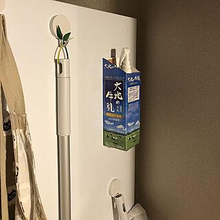 37歳の一人暮らし2DK、牛乳パックに関するnfさんの実例写真