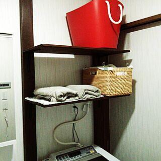 女性29歳の家族暮らし3LDK、ディアオール棚に関するtomo3さんの実例写真